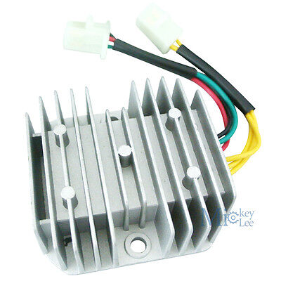 6 Wire 12V DC Voltage Regulator Rectifier For Honda Dirt Bike CH125 GY6 Quad