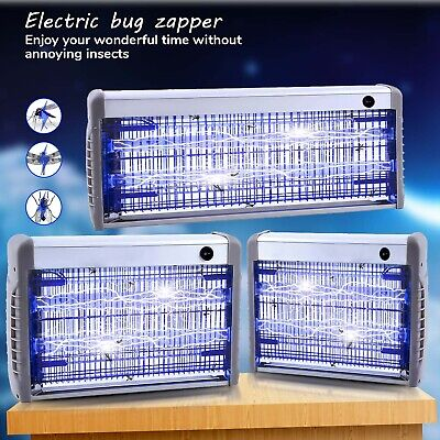 Industrial 36W 20W 12W Electrical Insect Bug Fly Mosquito Killer Zapper 2Uv Tube