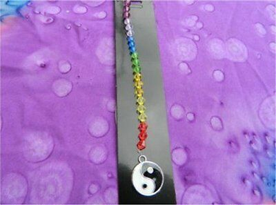 Suncatcher / Car Mirror Dangle - Yin Yang Chakra