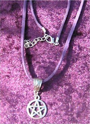 Pretty Pentacle Pentagram Necklace - Protection