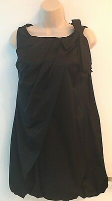 NEW BEBE black S bubble dress Solid limited edition party sexy womens above knee
