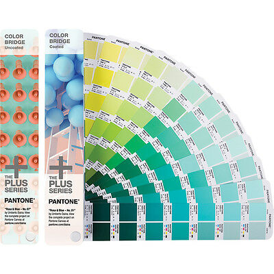 Pantone GP6102N Color Bridge Set Guides Coated & Uncoated