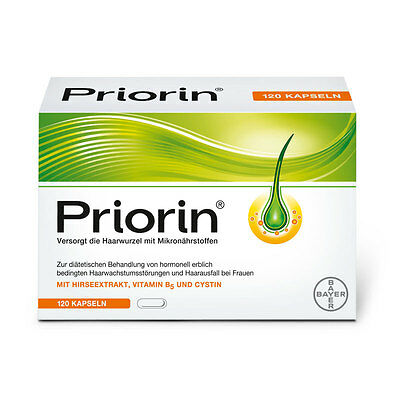 Bayer Priorin 30/60/120/240 Capsules.Hair Growth Loss Treatment Free Delivery!
