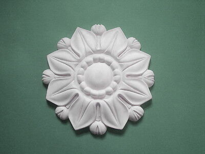 Silicone Rubber Mould Large Tudor Rose Flower Furniture Fire Place Create