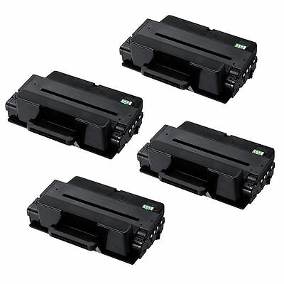 4PK  MLT-D205L MLTD205L Toner Cartridge for Samsung ML-3310 3710 SCX-4833 5637