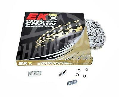 EK Chains 530 x 130 Links ZVX3 Extreme Series Xring Sealed Chrome Drive Chain