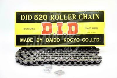 DID 520 x 120 Links Standard Series  Non Oring Natural Drive Chain