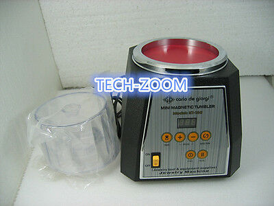 Magnetic Tumbler 13cm Jewelry Polisher & Finisher Finishing Polishing machine A