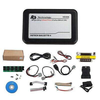 Latest VD300 V54 FGTech Galletto 4 Master BDM-TriCore-OBD OBDII Function Tool