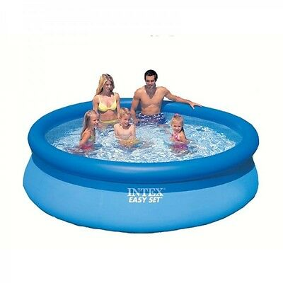 Intex 6ft 8ft 10ft 12ft 13ft 15ft Easy Set Round Swimming Pool no Pump Filter