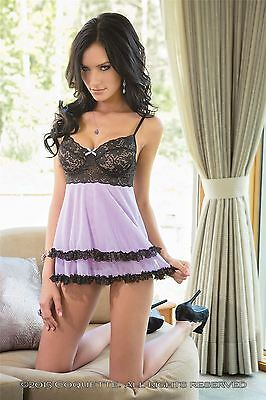 Coquette Babydoll and G String Set