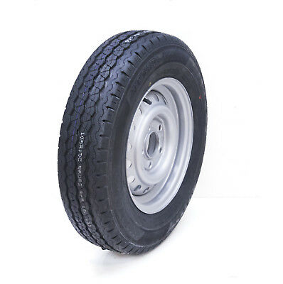 165 R13 5 STUD 112mm PCD TRAILER WHEEL AND TYRE Compass CT 7000 Tire 710kg