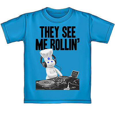 """""""Brand New"""" OFFICIALLY LICENSED DOUGHBOY MUSIC """"THEY SEE ME ROLLIN' T SHIRT"""