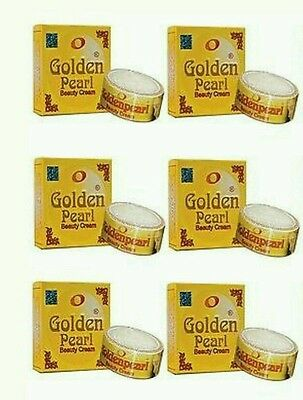 6X GOLDEN PEARL BEAUTY WHITENING  CREAM 100% ORIGINAL Brand FREE TRACKED POST