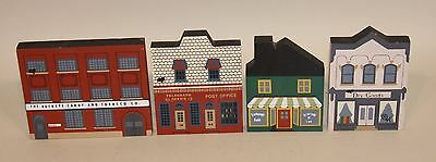 26 1980s & 1990s Cat's Meow Village Including Truman White House + 9 Accessories