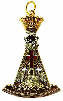 NEW Masonic Knight of the Rose Croix 18th Degree Jewel Scottish Rite Masonry