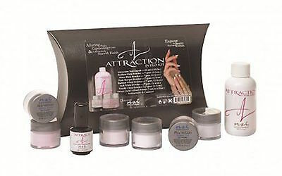 NSI Attraction Acrylic Nails Introductory kit Primer, Powders & Liquids intro