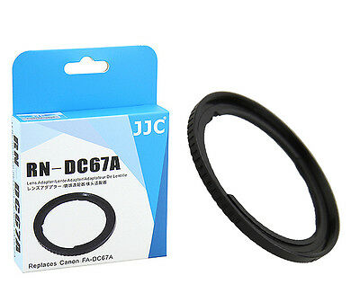 JJC RN-DC67 67mm Filter Adapter for CANON PowerShot SX60 HS SX50 HS as FA-DC67A