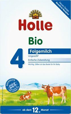 2 x 600g Boxes Holle Organic Stage 4 Baby Infant Formula / from Germany New