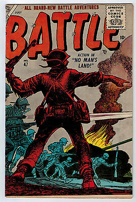 Battle #47 4.5 Atlas Off-White Pages Silver Age