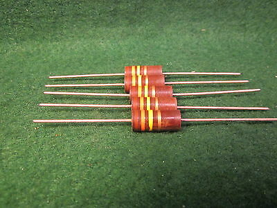 100 Piece Lot 30 Ohm 1//4 Watt 5/% Carbon Film Resistor 291-30-RC