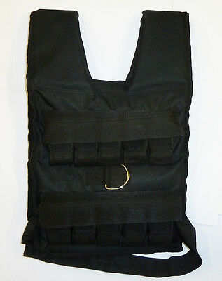 Ironman Adjustable 20kg CANVAS Weighted Vest