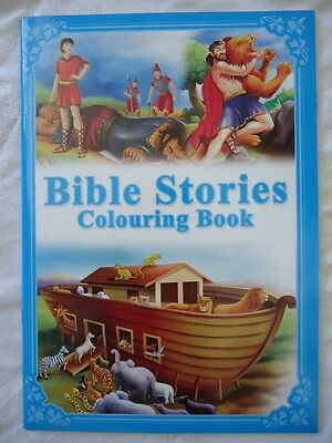 Children's Bible Stories Colouring Book