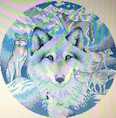 Call Of The Wild Counted Cross Stitch Pattern