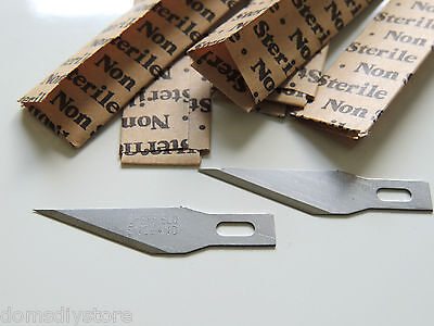 Quality Replacement Precision Hobby Craft Knife Blades # 11 Fits X Acto Westcott