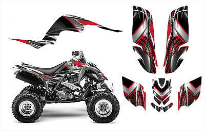 Raptor 660 660R Graphics Decal Sticker Kit #7777 Red Free Custom Service