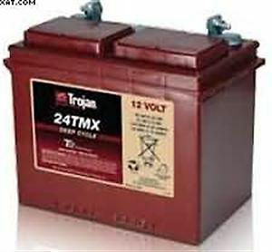 12v Trojan Ultra Deep Cycle Narrowboat Battery