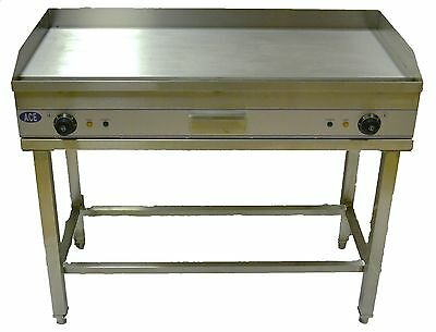 Monster Size 100cm MILD STEEL Commercial Electric Griddle on STAND Flat Hotplate