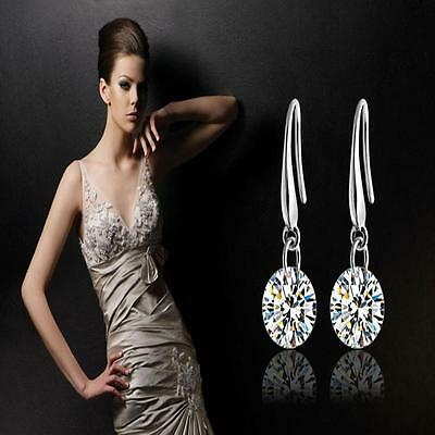 Hot Fine Jewelry Solid 925 Sterling Silver Fashion beautiful Earrings Fine gift
