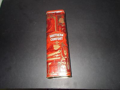 Collectible Southern Comfort Tin Case ''no Alcohol''