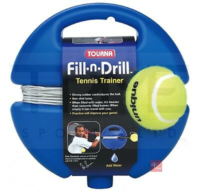 Tourna Fill 'N' Drill Tennis Trainer