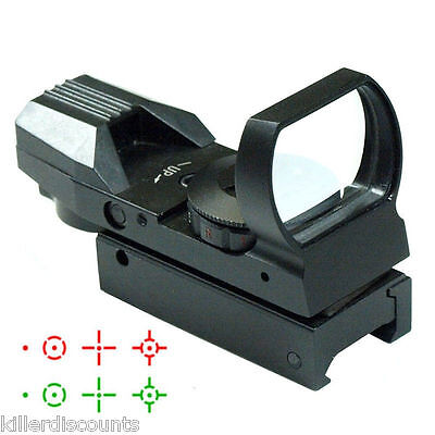 Tactical Red Dot Laser sight with  Picatinny Weaver Rail pistol rifle green gun