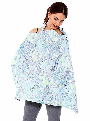 New Floral Pattern Baby Mum Breastfeeding Nursing Cover Blanket Shawl