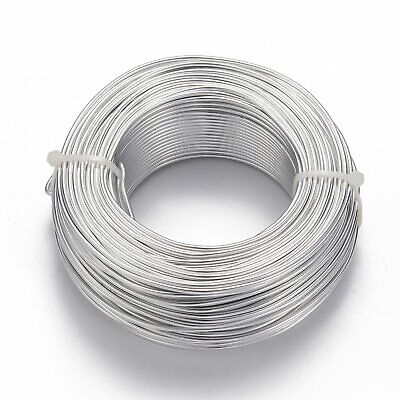 1roll Aluminum Wire Silver 2mm 50m/roll Strings Jewelry Bracelet Charm Beading