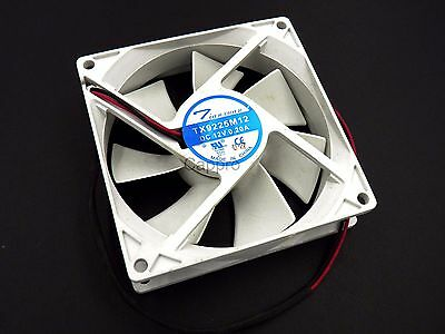 90x90mm White/Black 12V Cooling Fan 90x90 For Drinking Fountains new
