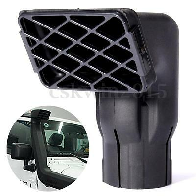 """3"""" Universal Air Intake Ram Head Fit Off Road Replacement Mudding Snorkel Use"""