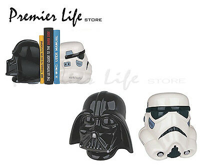 Star Wars Darth Vader & Stormtrooper Bookends