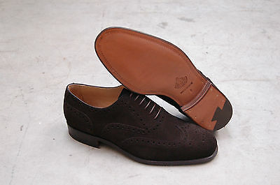Man - Oxford Wingtip - W/perfs And Medallion - Capebutt Mokka - Leather Sole