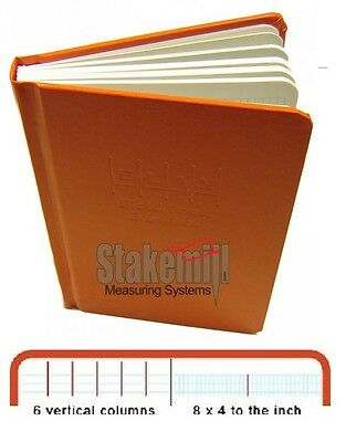 New ELAN style Engineers Field Book Standard - Standard Size 8x4, E64-8x4