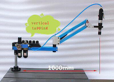 New Vertical Type Pneumatic Air Tapping Machine M3-M12 1000mm