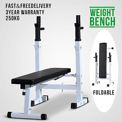 Weight Workout Heavy Duty Shoulder Chest Press Home Gym Exercise Bench Barbell