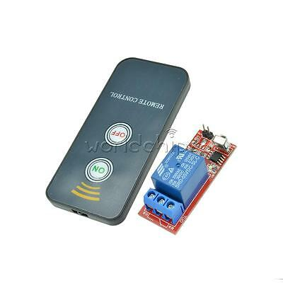 5V Active 1 Channel Infrared Switch Relay Driving Module Board+Remote Controller