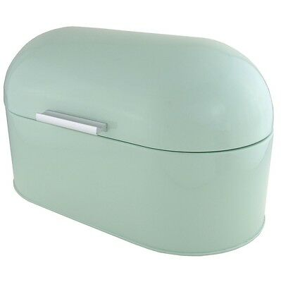 New Kitchen Retro Style Dome Mint Green Colour High Gloss Food Storage Bread Bin