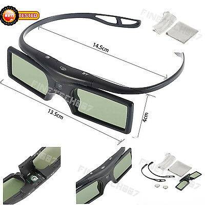 Univers 3D Active Shutter Glasses Bluetooth For LG Sony Toshiba Sharp Samsung FT