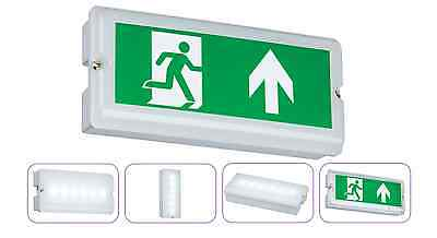 3W Led Emergency Bulkhead Ultra Slim 3 Year Warranty Mini Emergency Exit Light