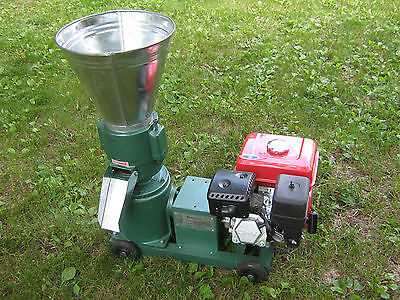 """Pellet Mill 5"""" 7.5hp Gasoline Engine, FREE SHIPPING."""